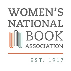 Women's National Book Association logo is on a white background.