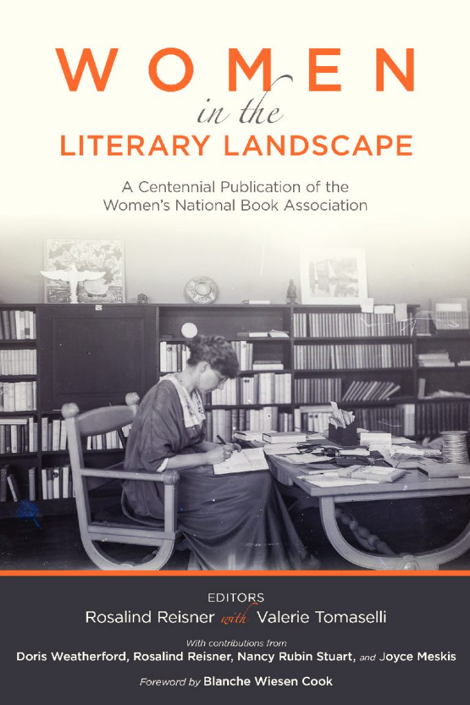 Cover art from Women in the Literary Landscape.