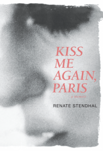 Cover of Kiss Me Again, Paris is a close-up of a woman's profile.