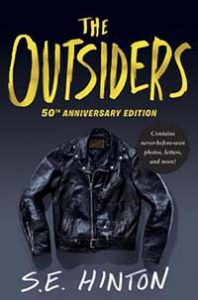 Book cover for The Outsiders 50th Anniversary edition.