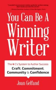Cover of You Can Be a Winning Writer is red with white lettering.