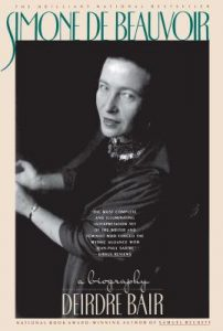 Book cover of Simone de Beauvoir by Deirdre Bair