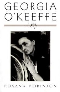 Book cover for Georgie O'Keefe by Roxana Robinson