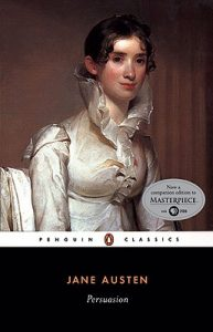 Cover of the book Persuasion by Jane Austen.