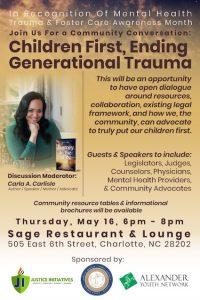 Flyer for Carla Carlisle talk.