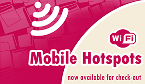 Notice that mobile hotspots are available.