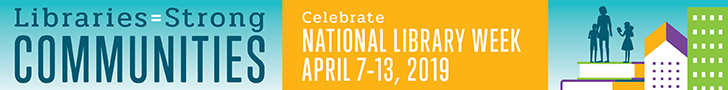 National Library Week Banner.