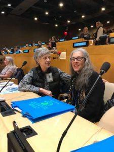 Jill Tardiff and Marilyn Berkman at CTAUN 2019.