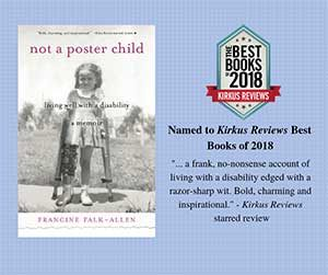 Not a Poster Child is considered a Kirkus Best Book.