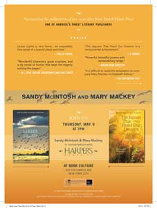 Mary Mackey featured in Harper's Magazine.