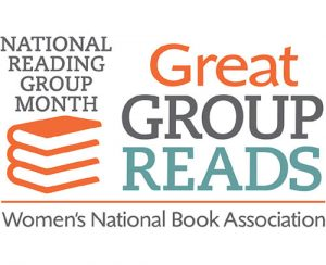 National Reading Group Month's Great Group Reads logo