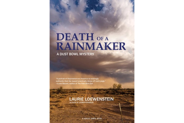Book cover for Death of a Rainmaker