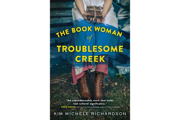 Book cover for the Book Woman of Troublesome Creek