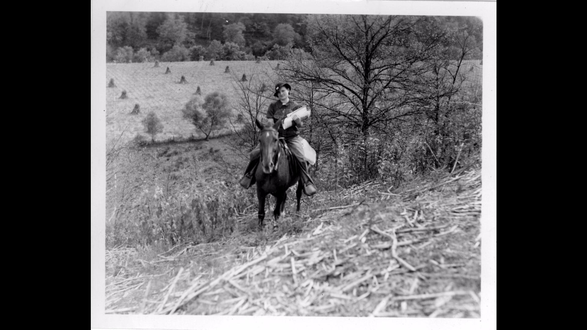 Packhorse Libraian in Kentucky