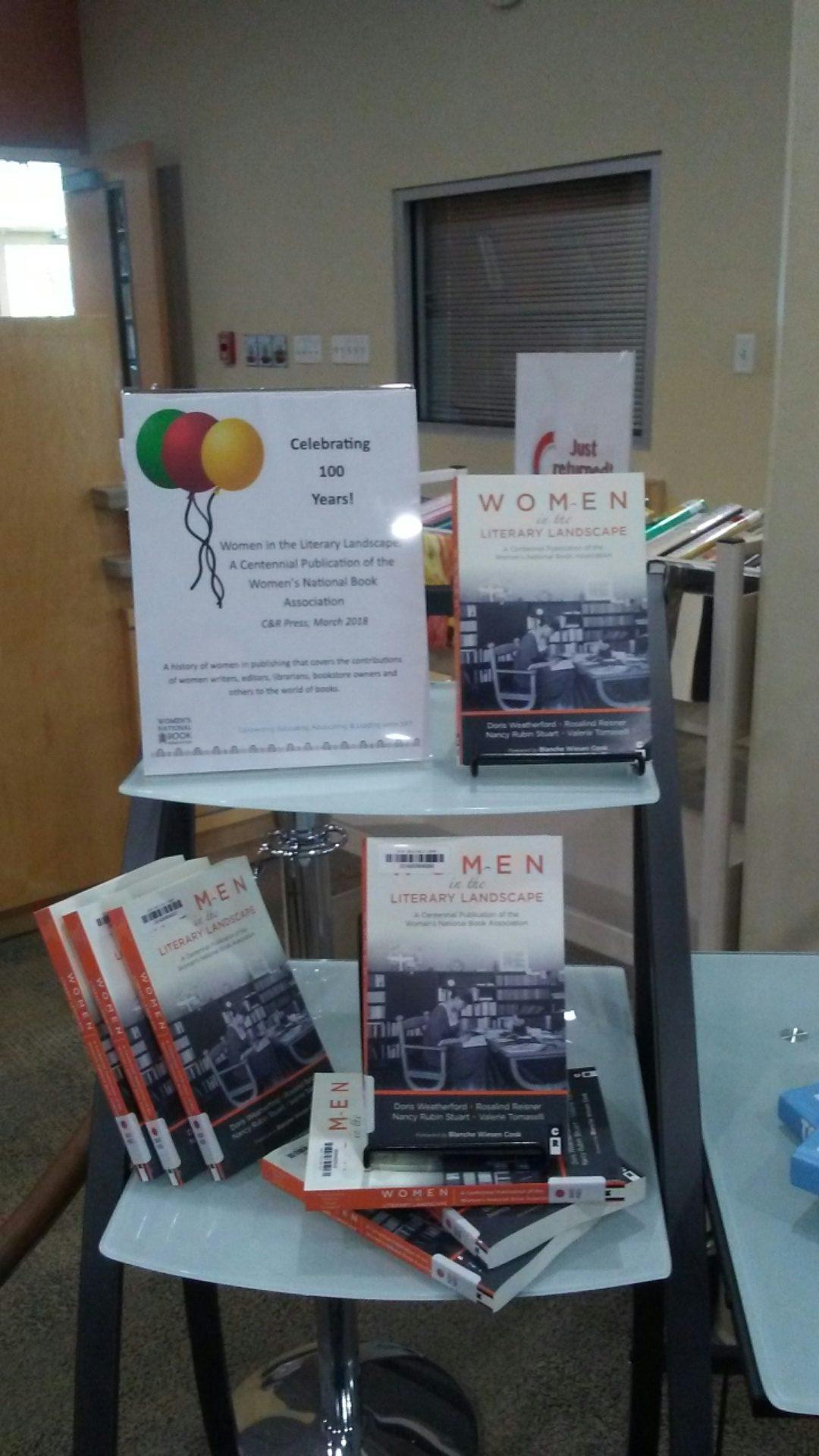 WNBA publication display