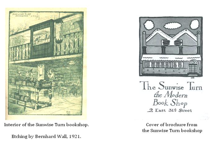Illustrations from Sunwise Turn bookshop 1917