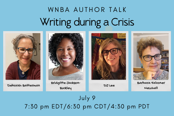 Event Announcement Writing during a Crisis on July 9 at 7:30 pm EDT