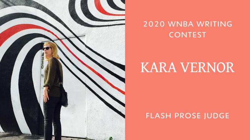 Photo of Kara Vernor 2020 WNBA Contest flash prose judge