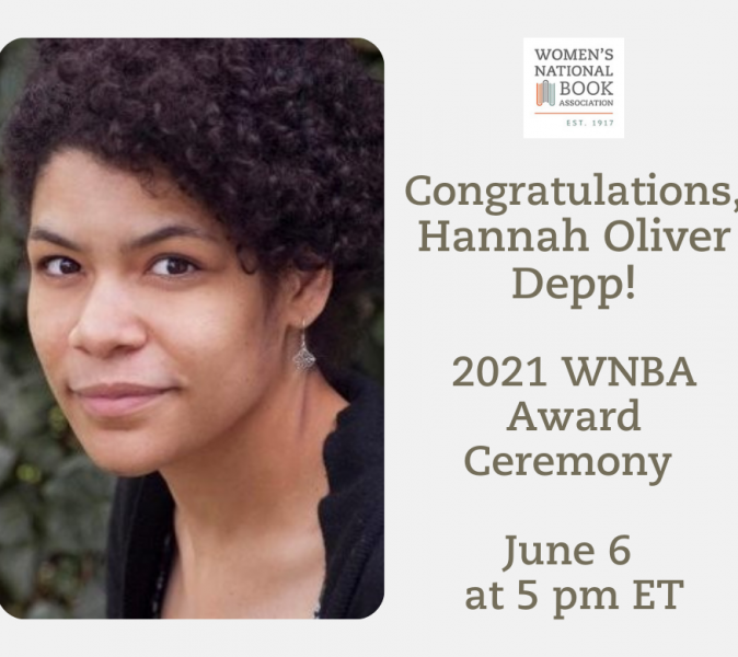 Congratulations, Hannah Oliver Depp! 2021 WNBA Award Ceremony to be held June 6 at 5 pm ET. Hannah Oliver Depp shown with a half smile.