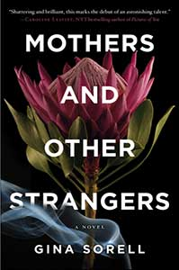 A purple thistle takes up most of book cover for Mothers and Other Strangers.