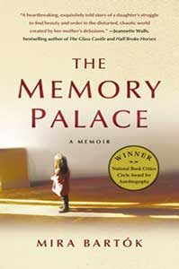 The book cover for the Memory Palace, a 2011 Great Group Reads, shows a little girl standing in an empty room.