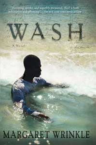 The book cover shows a Black man wearing a white long-sleeved shirt chest-high in a body of water.